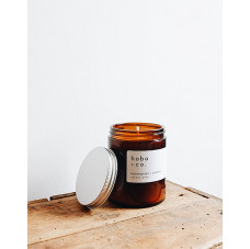Lemongrass + Coconut Medium Jar Candle